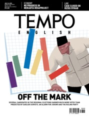 Cover Majalah TEMPO ENGLISH ED 1606 02-08 Juli 2018