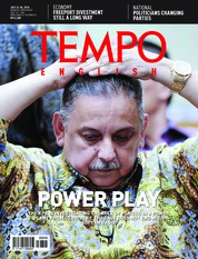 Cover Majalah TEMPO ENGLISH ED 1609 23-29 Juli 2018