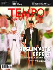 Cover Majalah TEMPO ENGLISH ED 1611 06-12 Agustus 2018