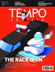 Cover Majalah TEMPO ENGLISH ED 1612 13-19 Agustus 2018