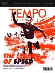 Cover Majalah TEMPO ENGLISH ED 1613 21-27 Agustus 2018