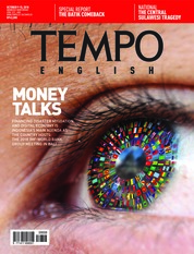 Cover Majalah TEMPO ENGLISH ED 1620 09-15 Oktober 2018