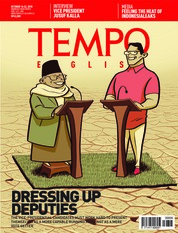 Cover Majalah TEMPO ENGLISH ED 1621 16-22 Oktober 2018