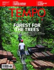 Cover Majalah TEMPO ENGLISH ED 1631 25-31 Desember 2018