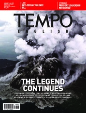 Cover Majalah TEMPO ENGLISH ED 1633 08-14 Januari 2019