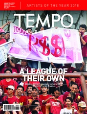 Cover Majalah TEMPO ENGLISH ED 1634 15-21 Januari 2019