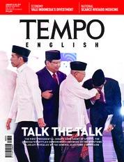 Cover Majalah TEMPO ENGLISH ED 1635 22-28 Januari 2019