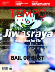 Cover Majalah TEMPO ENGLISH ED 1638 11-17 Februari 2019