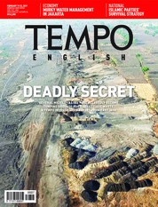 Cover Majalah TEMPO ENGLISH ED 1639 18-24 Februari 2019