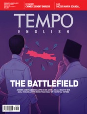 TEMPO ENGLISH ED 1640 Magazine Cover 26-04 March 2019
