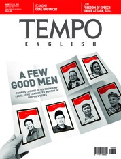 TEMPO ENGLISH ED 1642 Magazine Cover 12-18 March 2019