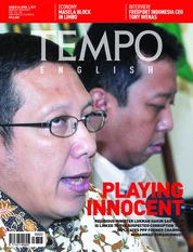 TEMPO ENGLISH ED 1644 Magazine Cover 26-01 April 2019