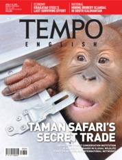 TEMPO ENGLISH ED 1646 Magazine Cover 09-15 April 2019