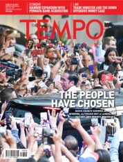 Cover Majalah TEMPO ENGLISH ED 1648 23-29 April 2019