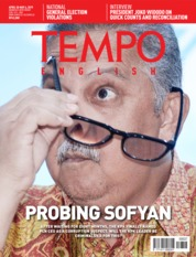 TEMPO ENGLISH ED 1649 Magazine Cover 30-06 May 2019