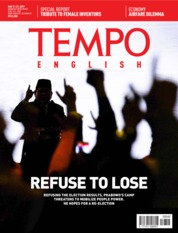 TEMPO ENGLISH ED 1652 Magazine Cover 21-27 May 2019