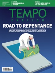 TEMPO ENGLISH ED 1653 Magazine Cover 28-03 June 2019