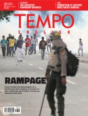 TEMPO ENGLISH ED 1654 Magazine Cover 04-10 June 2019