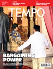 Cover Majalah TEMPO ENGLISH ED 1656 02-08 Juli 2019