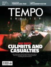 Cover Majalah TEMPO ENGLISH ED 1657 09-15 Juli 2019