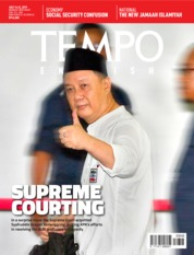 Cover Majalah TEMPO ENGLISH ED 1658 16-22 Juli 2019