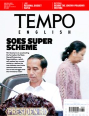 Cover Majalah TEMPO ENGLISH ED 1659 23-29 Juli 2019