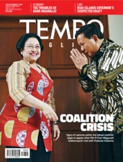Cover Majalah TEMPO ENGLISH ED 1660 30-05 Agustus 2019