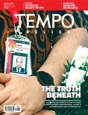 Cover Majalah TEMPO ENGLISH ED 1661 06-12 Agustus 2019
