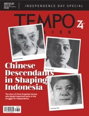 TEMPO ENGLISH ED 1663 Magazine Cover 20-26 August 2019