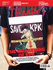 Cover Majalah TEMPO ENGLISH ED 1666 10-16 September 2019