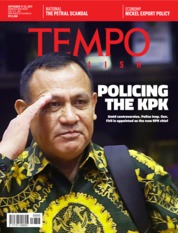 Cover Majalah TEMPO ENGLISH ED 1667 17-23 September 2019