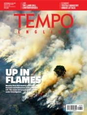 Cover Majalah TEMPO ENGLISH ED 1668 24-30 September 2019