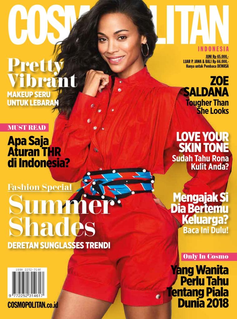 COSMOPOLITAN Indonesia Digital Magazine June 2018