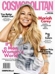 Cover Majalah COSMOPOLITAN Indonesia Oktober 2019