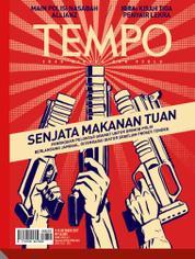 Cover Majalah TEMPO ED 4441 / 09–15 OCT 2017 ED 4441 09–15 Oktober 2017