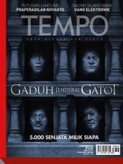 Cover Majalah TEMPO ED 4440 / 02–08 OCT 2017 ED 4440 02–08 Oktober 2017