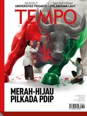 Cover Majalah TEMPO ED 4454 / 08–14 JAN 2018 ED 4454 08–14 Januari 2018