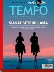 Cover Majalah TEMPO ED 4455 / 15–21 JAN 2018 ED 4455 15–21 Januari 2018