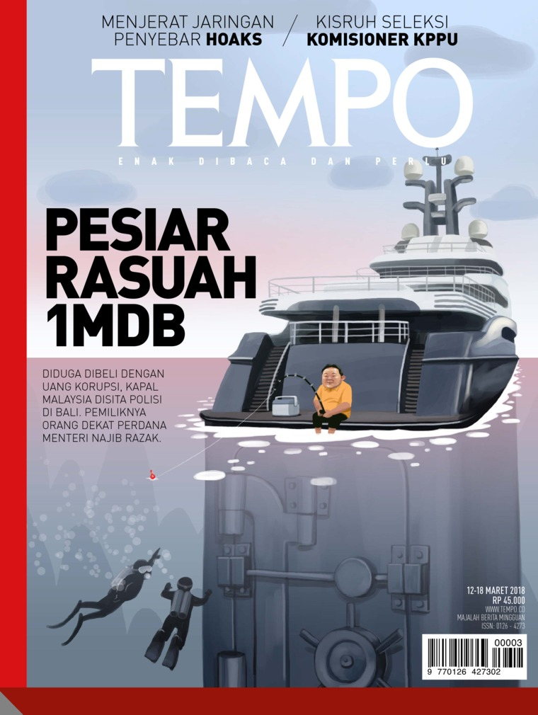 Majalah Digital TEMPO ED 4463 / 12–18 MAR 2018 ED 4463 12–18 Maret 2018