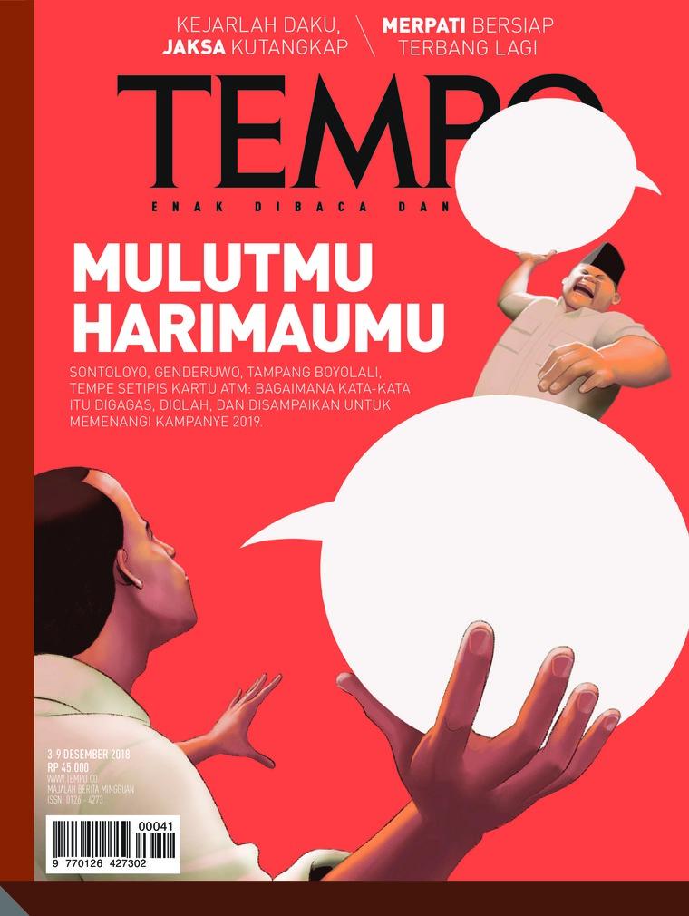 Majalah Digital TEMPO ED 4501 03-09 Desember 2018