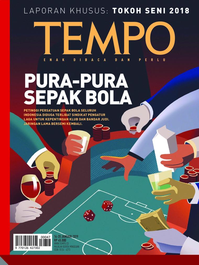 Majalah Digital TEMPO ED 4507 14-20 Januari 2019