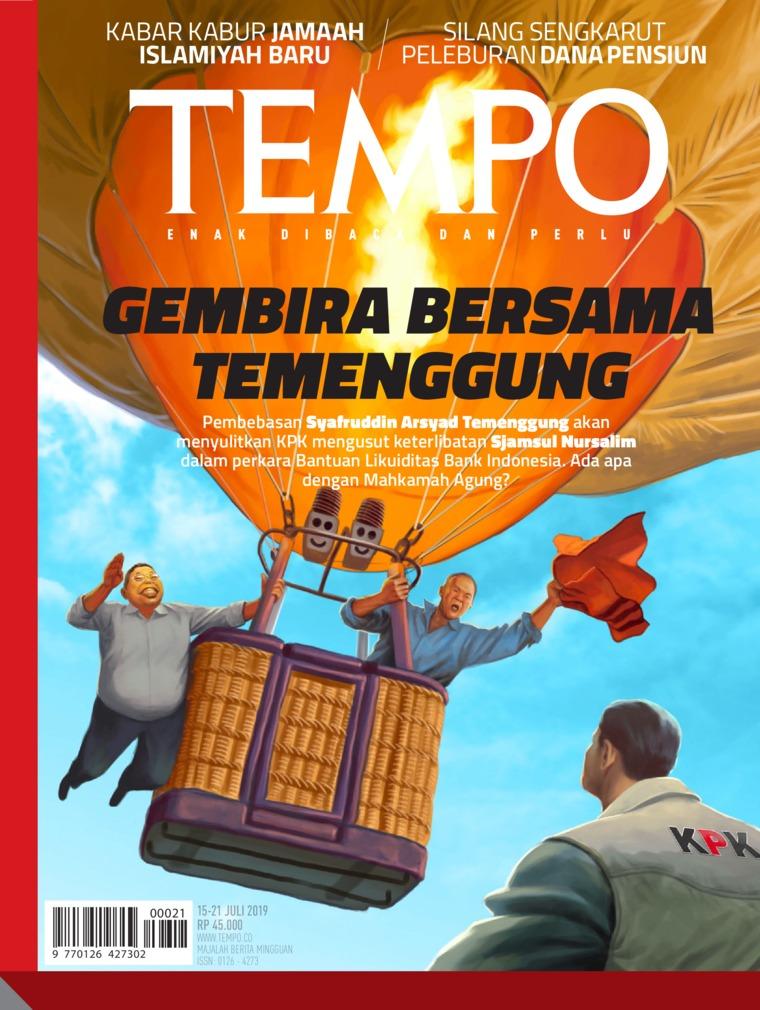 Majalah Digital TEMPO ED 4533 15-21 Juli 2019