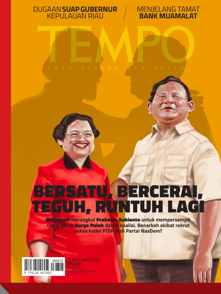 Majalah Digital TEMPO ED 4535 29-04 Agustus 2019