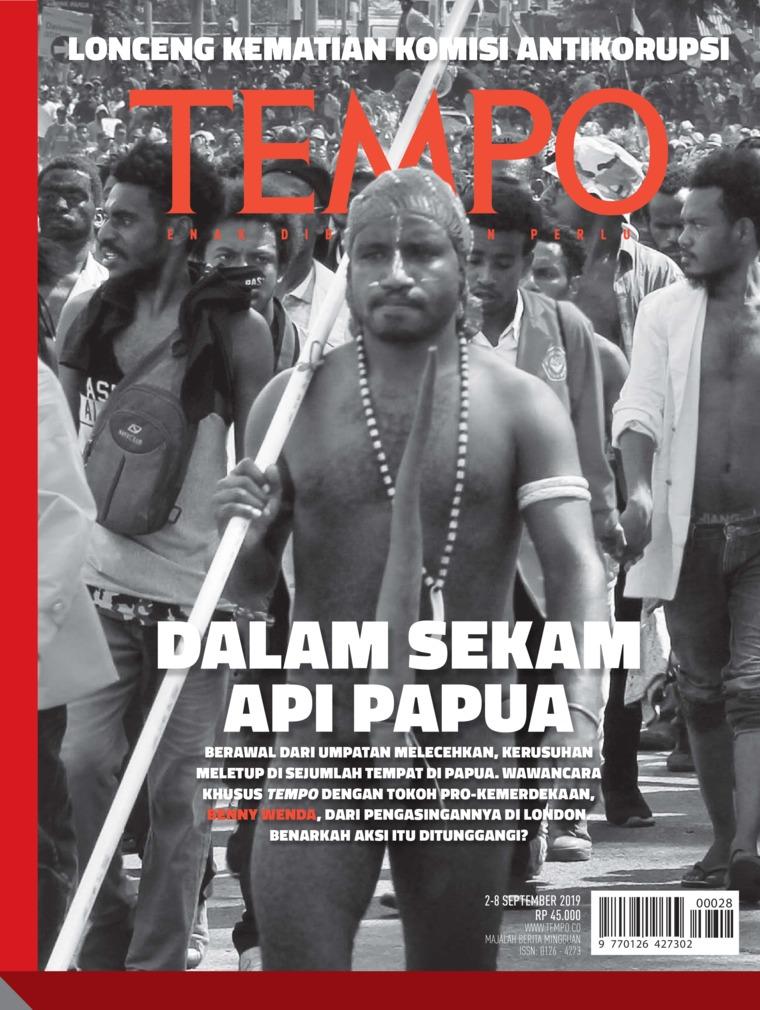 Majalah Digital TEMPO ED 4540 02-08 September 2019