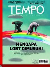 Cover Majalah TEMPO ED 4458 / 05–11 FEB 2018 ED 4458 05–11 Februari 2018