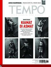 Cover Majalah TEMPO ED 4459 / 12–18 FEB 2018 ED 4459 12–18 Februari 2018