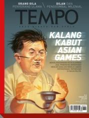 Cover Majalah TEMPO ED 4460 / 19–25 FEB 2018 ED 4460 19–25 Februari 2018