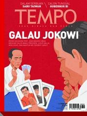 Cover Majalah TEMPO ED 4462 / 05–11 MAR 2018 ED 4462 05–11 Maret 2018