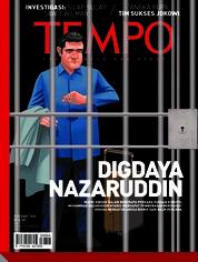 Cover Majalah TEMPO ED 4464 / 19–25 MAR 2018 ED 4464 19–25 Maret 2018