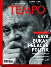 Cover Majalah TEMPO ED 4466 / 02–08 APR 2018 ED 4466 02–08 April 2018